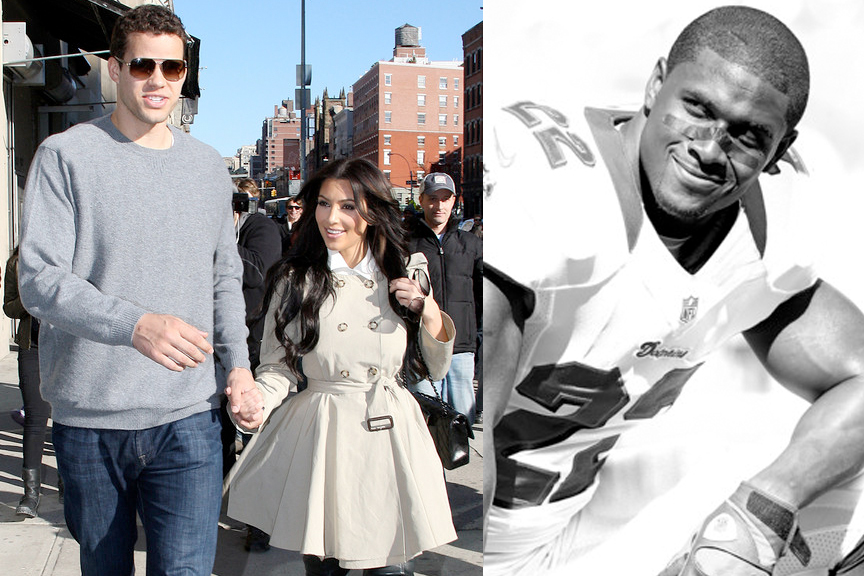 Reggie Bush vs. Kris Humphries
